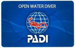 PADI オープン・ウォーター・ダイバー・コース